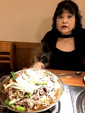 韓国ブルコギ夕食.jpg
